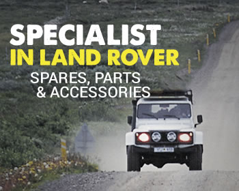 Specialist in Land Rover Spares, Parts and Accessories